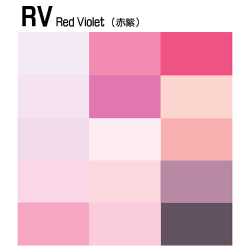 【COPIC】RV:Red Violet